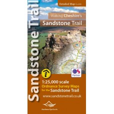 Walking Cheshire's Sandstone Trail   Detailed Map Guide