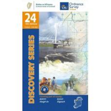 OSI Discovery Series | Sheet 24 | Part of Mayo & Sligo