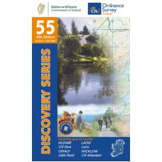 OSI Discovery Series | Sheet 55 | Part of Kildare, Laois, Offaly & Wicklow