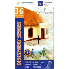 OSI Discovery Series | Sheet 36 | Part of Armagh, Down, Louth, Meath & Monaghan