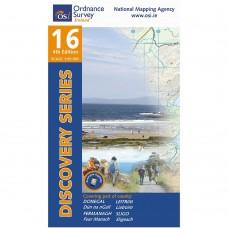 OSI Discovery Series | Sheet 16 | Part of Donegal, Fermanagh, Leitrim & Sligo