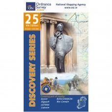 OSI Discovery Series | Sheet 25 | Part of Leitrim, Roscommon & Sligo