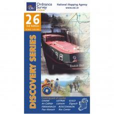 OSI Discovery Series | Sheet 26 | Part of Cavan, Fermanagh, Leitrim, Roscommon & Sligo