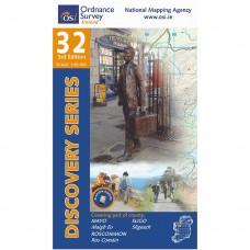 OSI Discovery Series | Sheet 32 | Part of Mayo, Roscommon & Sligo