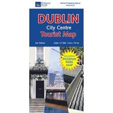 Dublin City Centre Tourist Map