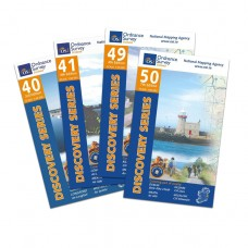 The Royal Canal Way Map Bundle | 1:50,000 Discovery Series