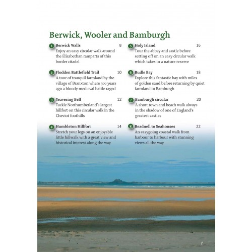 Northumberland Guidebook   40 Coast and Country Walks