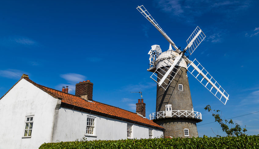 Bircham Windmill on the Peddars Way
