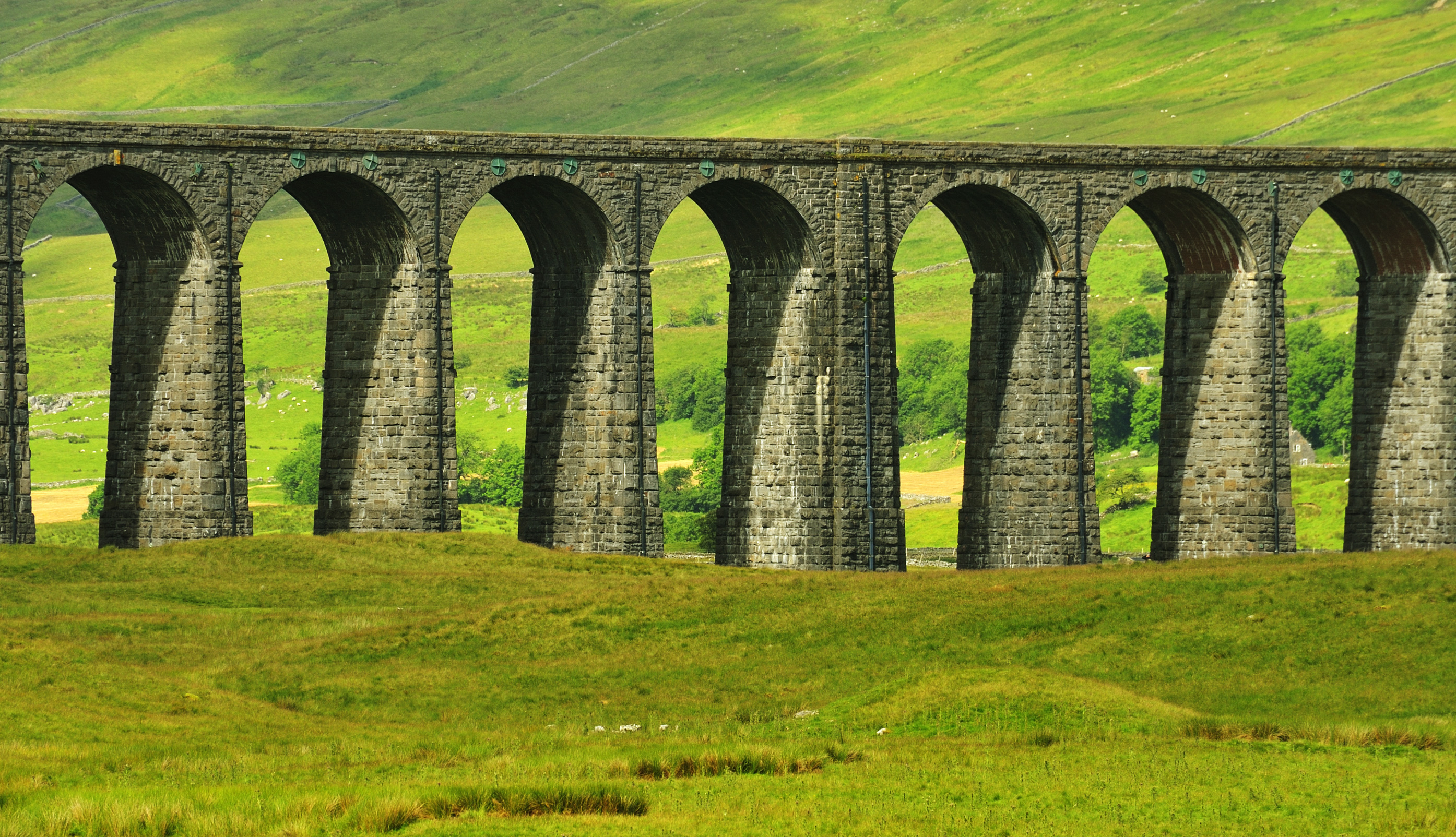 Ribblehead Viaduct on the Settle to Carlisle Way
