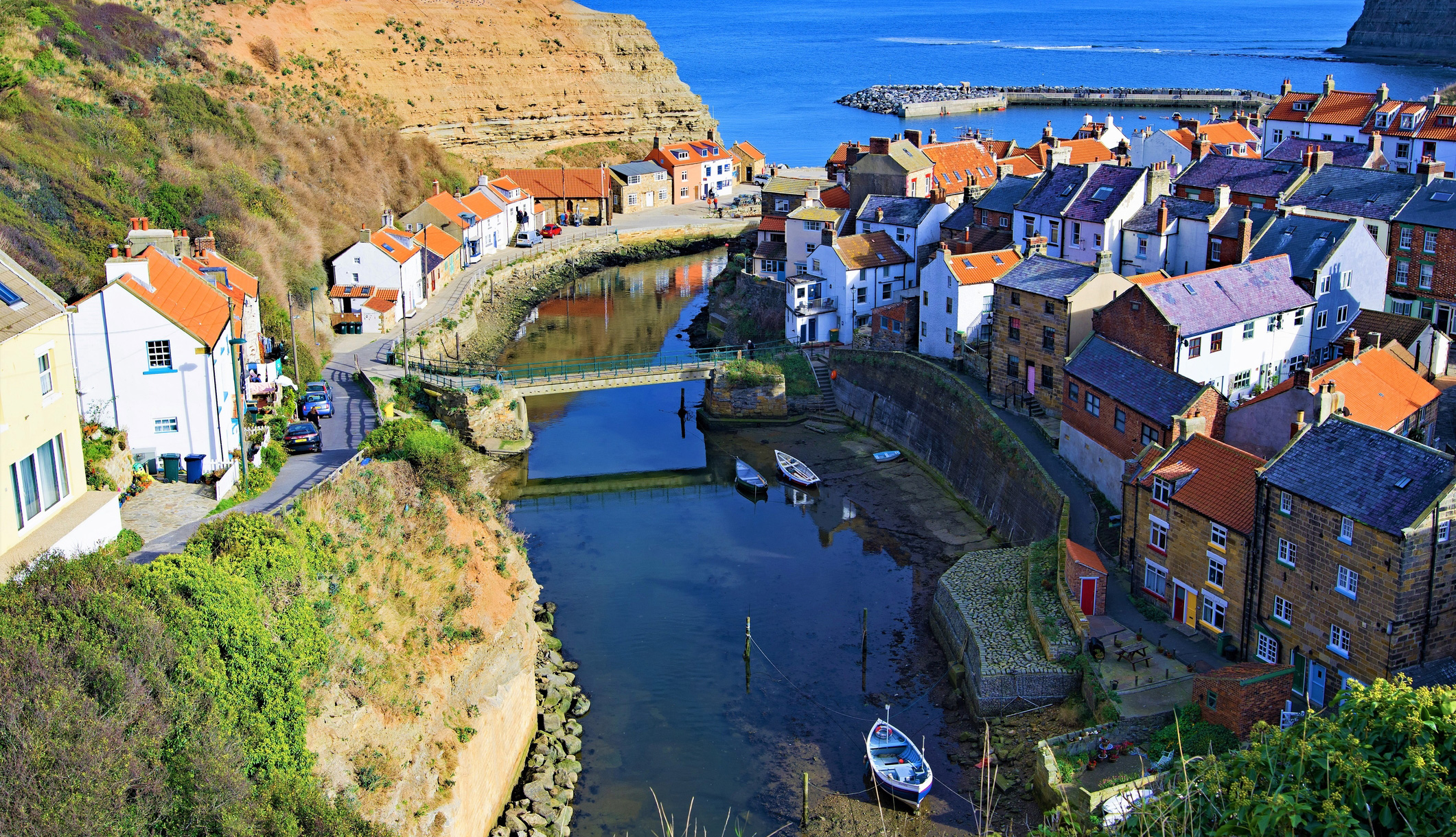 Staithes on the Cleveland Way
