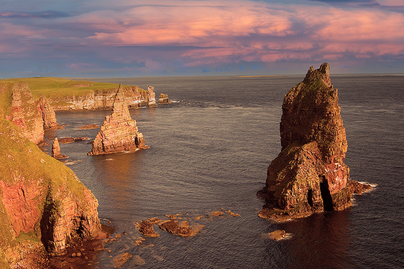 The Duncansby Stacks at John o' Groats